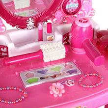 Load image into Gallery viewer, Keezi 30 Piece Kids Dressing Table Set - Pink