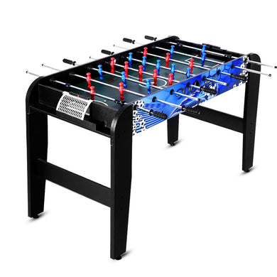 4FT Soccer Table Foosball Football Game Home Party Pub Size Kids Adult Toy Gift - Maddie & Jack's Playground