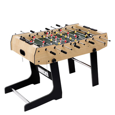 4FT Foldable Soccer Table Tables Balls Foosball Football Game Home Party Gift - Maddie & Jack's Playground