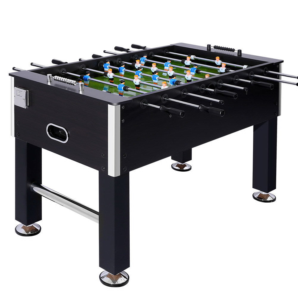 5FT Soccer Table Foosball Football Game Home Party Pub Size Kids Adult Toy Gift - Maddie & Jack's Playground
