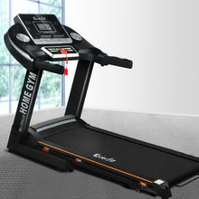 Load image into Gallery viewer, Everfit Electric Treadmill 42cm Running Home Gym Fitness Machine Black
