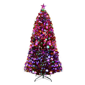 Jingle Jollys 1.8M 6FT LED Christmas Tree Xmas Optic Fiber Multi Colour Lights - Maddie & Jack's Playground