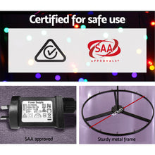 Load image into Gallery viewer, Jingle Jollys 2.1M LED Christmas Tree Lights Solar Xmas Multi Colour Optic Fiber - Maddie & Jack's Playground