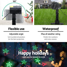 Load image into Gallery viewer, Jingle Jollys Moving LED Lights Laser Projector Landscape Lamp Christmas Decor - Maddie & Jack's Playground