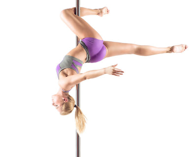 POWERTRAIN PORTABLE SPINNING STATIC DANCE POLE - Maddie & Jack's Playground