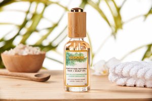 Fortifying Natural Hair Oil