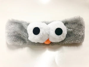 Bubble Eye Microfiber Bowtie Headband