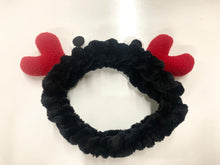 Load image into Gallery viewer, Bubble Eye Crab Microfiber Bowtie Headband