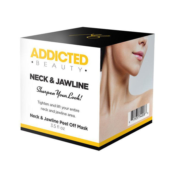 Neck and Jawline Peel Off Mask