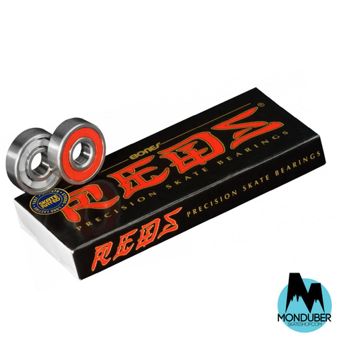 Rodamientos Bones Bearings - Reds 8mm - Monduber Skate Shop