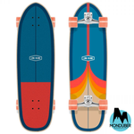 "Surfskate Completo Long Island - Ash 34"" - Multicolor - Monduber Skate Shop"