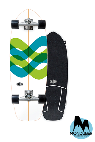 "Surfskate Triton Carver | Signal 31"" Eje CX"