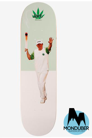 JART SKATEBOARDS WEED NATIONS DONALD TRUMP 8.5""