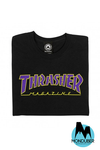 Camiseta Thrasher - Outline - Negro - Monduber Skate Shop