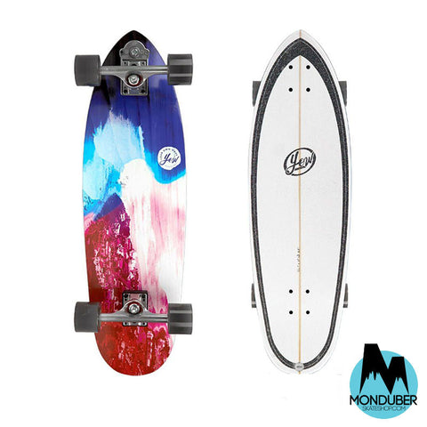 "Surfskate Completo YOW - J-Bay 33"" - Multicolor - Monduber Skate Shop"