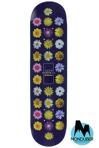 "Tabla Birdhouse Skateboards - Serie Pro Deck Lizzie Armanto Floral - Multicolor - 8.0"" - Monduber Skate Shop"