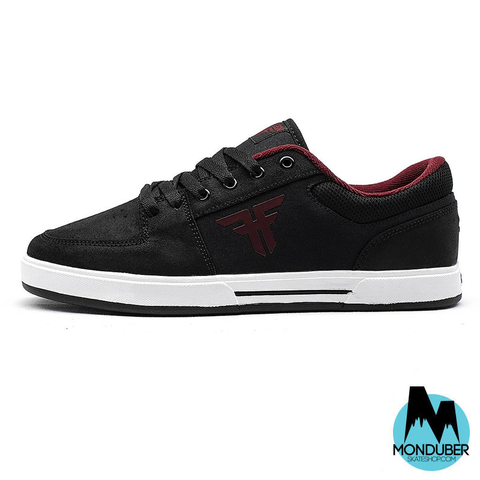 Zapatillas de Skate Fallen - Patriot - Black/Crimson - Monduber Skate Shop