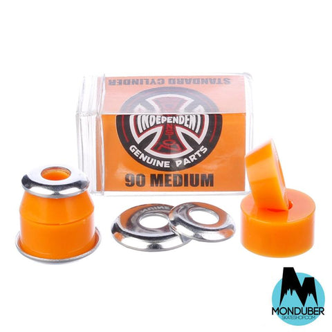 Bushings Independent - Dureza: 90 - Medio - Naranja - Monduber Skate Shop