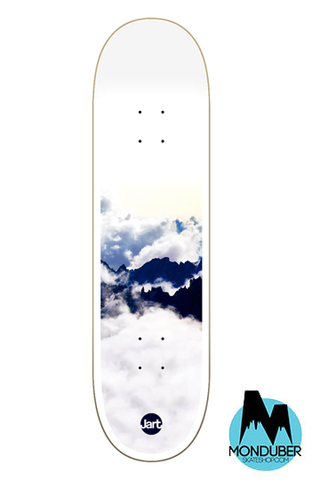 Tabla Jart Skateboards - Foggy - Blanco - 8.375""