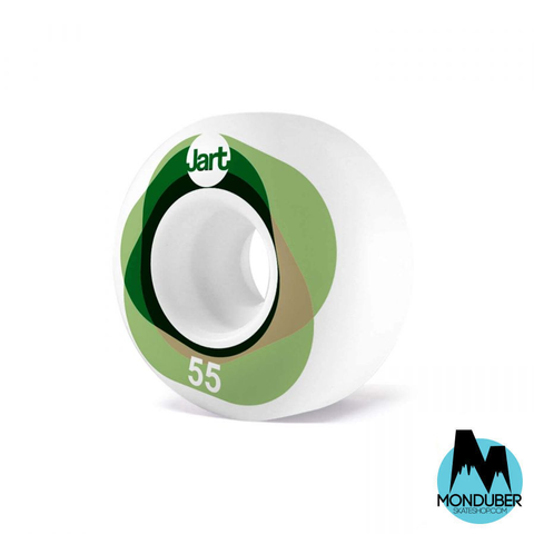 Ruedas Jart Skateboards - Twister - 55mm - 101a - Monduber Skate Shop