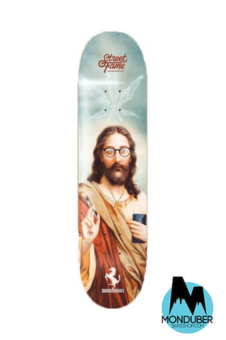 "Tabla Muckefuck Skateboards - Serie Street Fame - Multicolor - 8.5"" - Monduber Skate Shop"