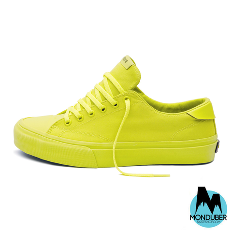 Zapatillas de Skate STRAYE - Stanley - Safety Yellow - Monduber Skate Shop