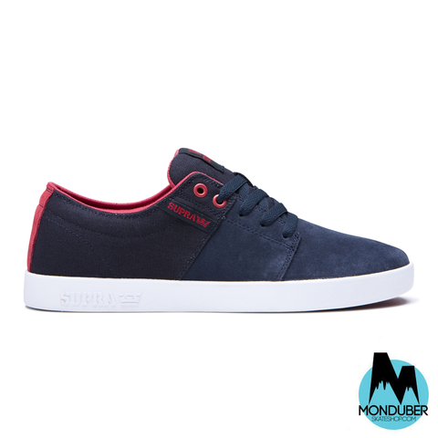 Zapatillas de Skate Supra - Stacks II - Navy/Rose/White - Monduber Skate Shop
