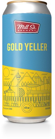 Gold Yeller Ale Cans