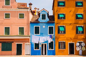 Burano Blue by Michael George