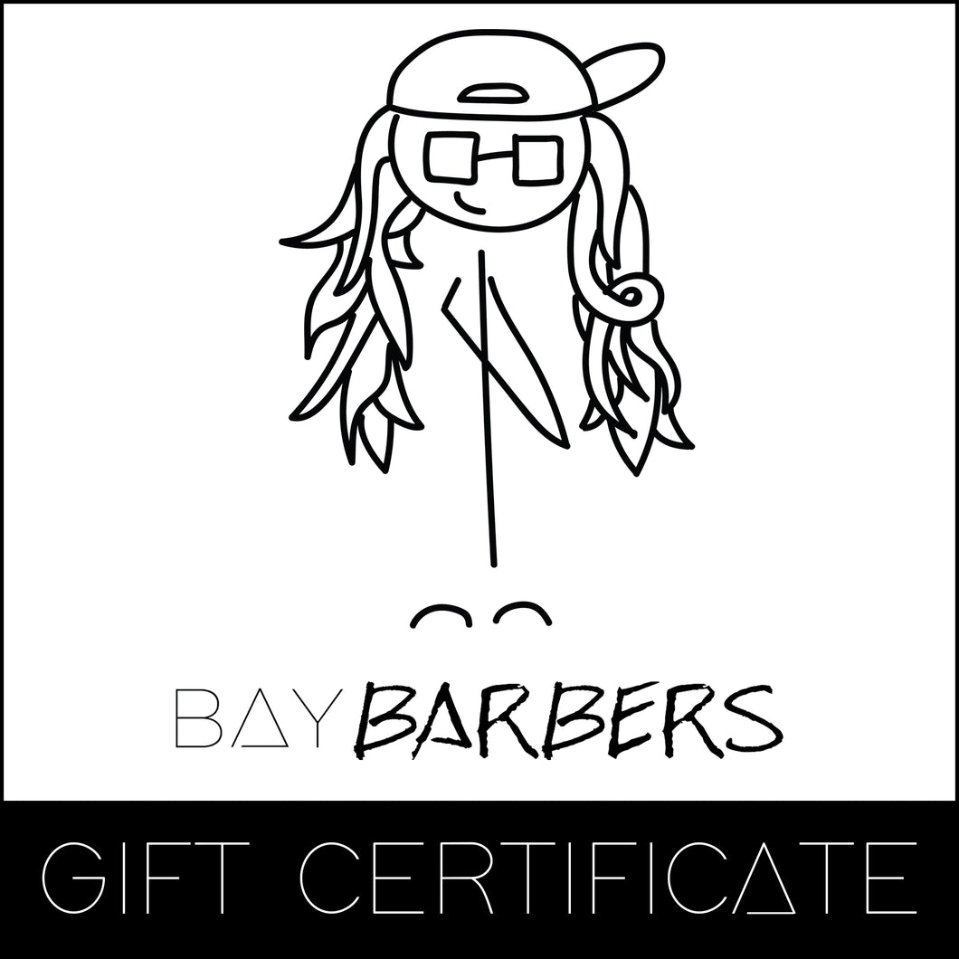 Bay Barber Gift Card