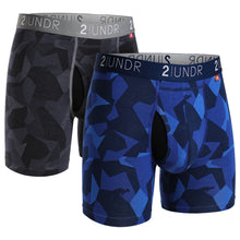 Load image into Gallery viewer, 2 UNDR Swing Shift Boxer Brief 2 Pack