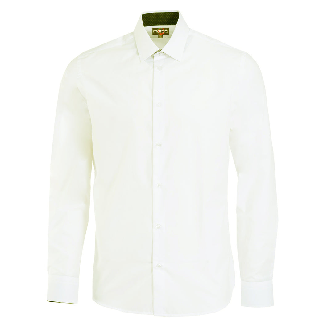 Marco Long Sleeve Fitted Dress Shirt
