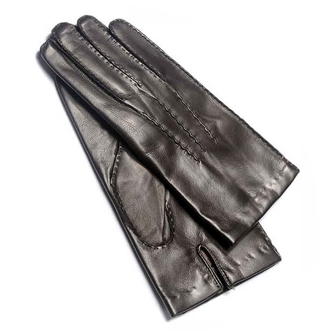 Albee Classic Men's Lambskin Cashmere Lined Gloves