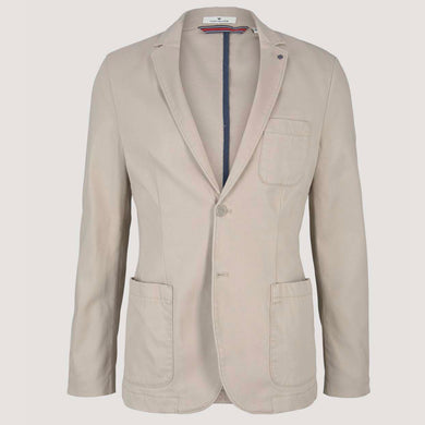 TOMTAILOR Cotton Blazer