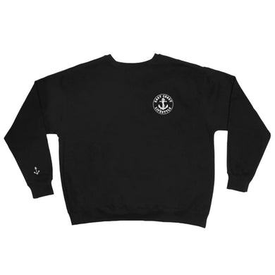 East Coast Lifestyle Classic Embroidered Crewneck Sweat