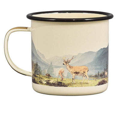 Gentlemen's Hardware Great Outdoors Hook Line & Sinker and Deer Mugs