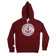 Load image into Gallery viewer, East Coast Lifestyle Classic Anchor Hoodie