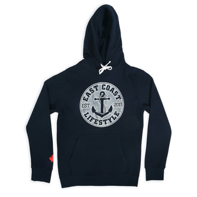 East Coast Lifestyle Classic Anchor Hoodie