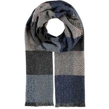 Load image into Gallery viewer, Fraas ECO Wool Geometric Scarves