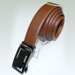 Marco Cognac Adjustable Leather Belt