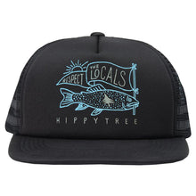 Load image into Gallery viewer, HIPPYTREE Locals Hat Black
