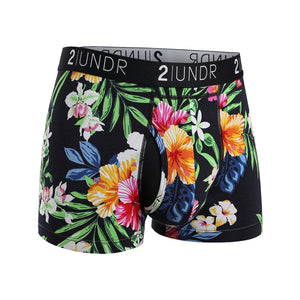 2 UNDR Swing Shift Printed Trunks