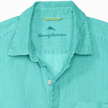 Load image into Gallery viewer, Tommy Bahamas Big & Tall Sea Glass Breezer Linen Shirt