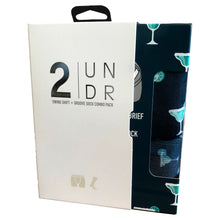 Load image into Gallery viewer, 2 UNDR Swing Shift Boxer Brief & Sock Pack