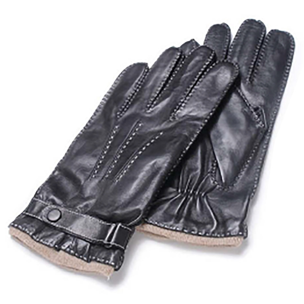 Albee Men's Classic Contrast Stitching Gloves