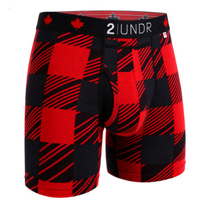 2 UNDR Printed Swing Shift Boxer Briefs
