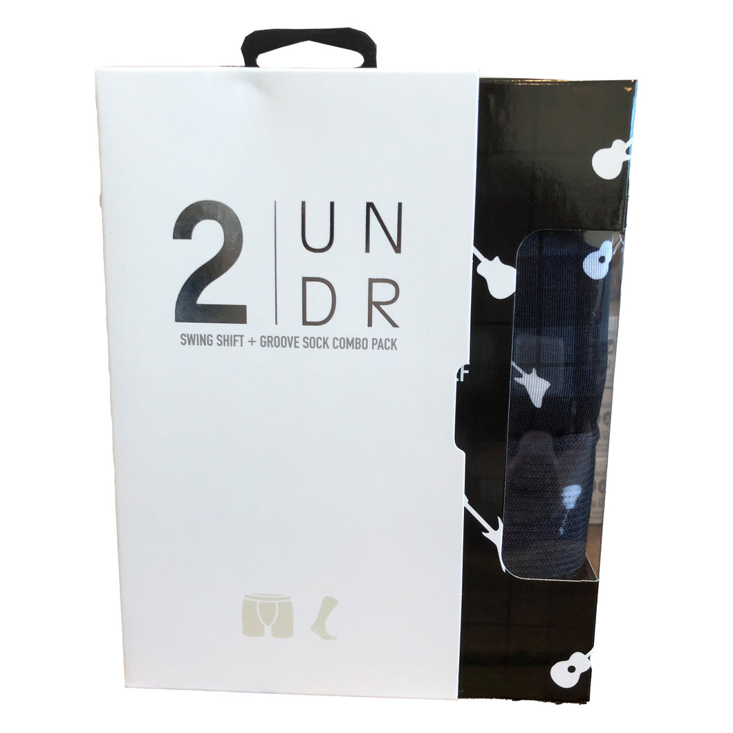 2 UNDR Swing Shift Boxer Brief & Sock Pack