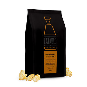 Eatable Popcorn Alcohol-Infused Gourmet Popcorn