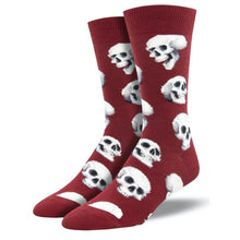 Load image into Gallery viewer, Socksmith Men's Graphic Cotton Crew Socks