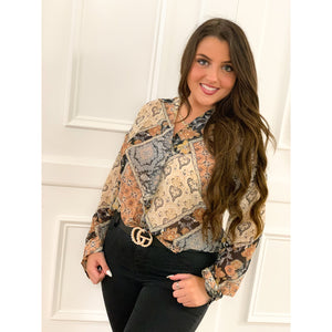 Vintage Inspired Blouse